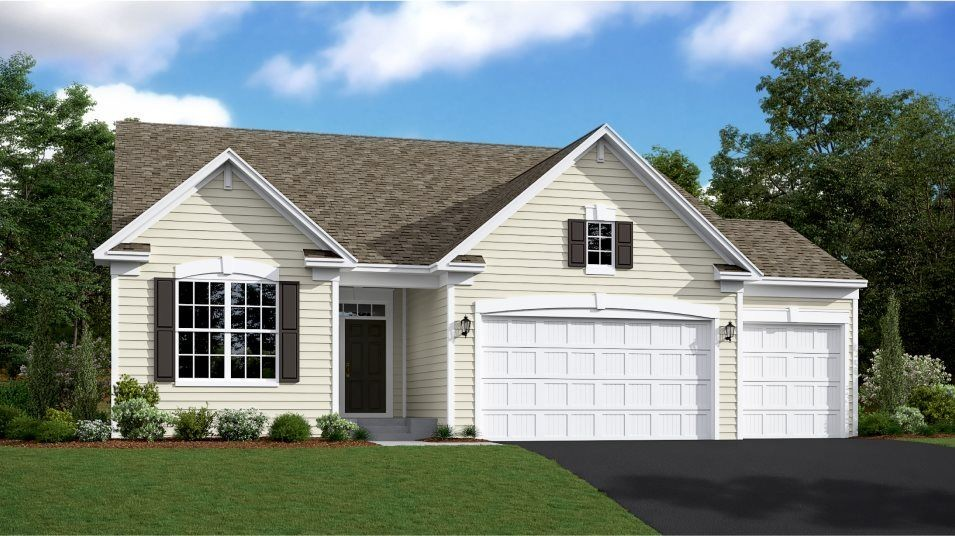Ready To Build Home In Bridlewood Farms - Landmark Collection Community