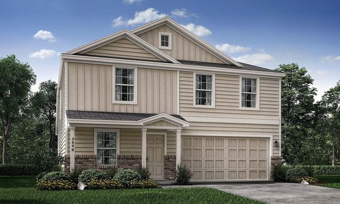 Ready To Build Home In Prairie Creek Community