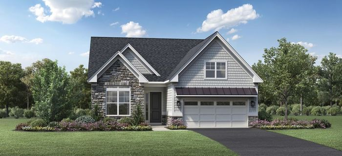 Ready To Build Home In Preserve at Marsh Creek - Regency Collection Community