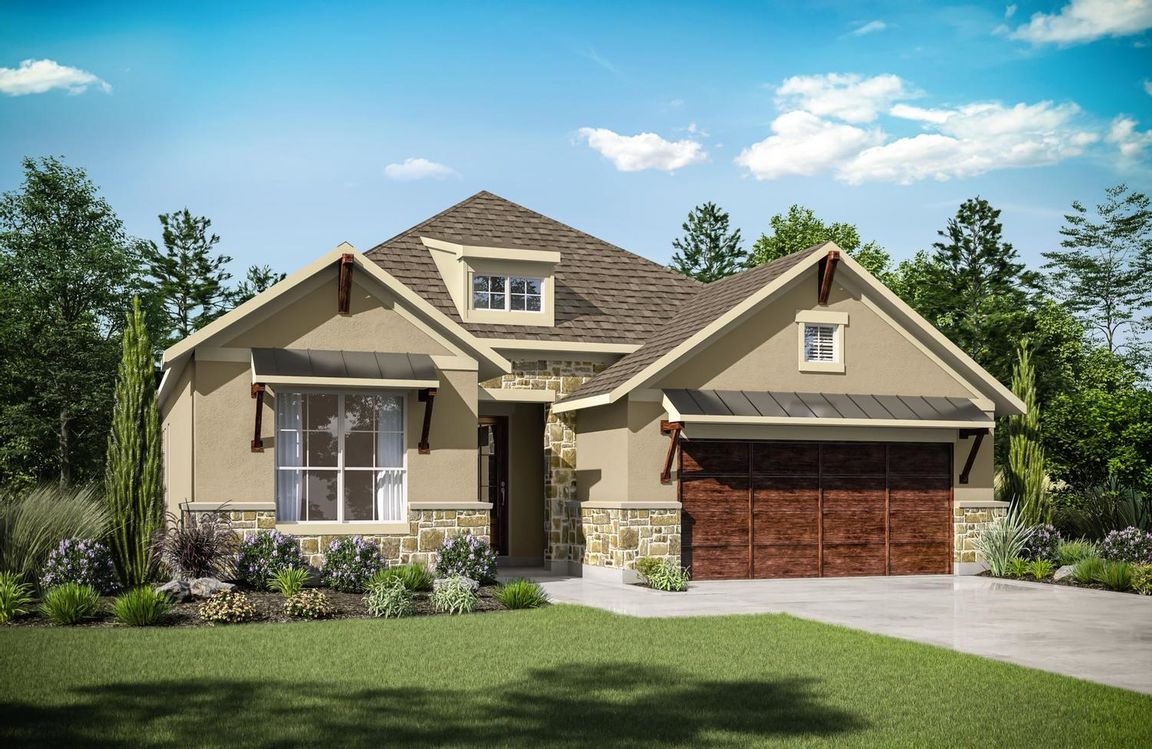 Ready To Build Home In The Hollows Canyon - 60' Community