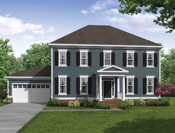 Ready To Build Home In Greenleigh Community