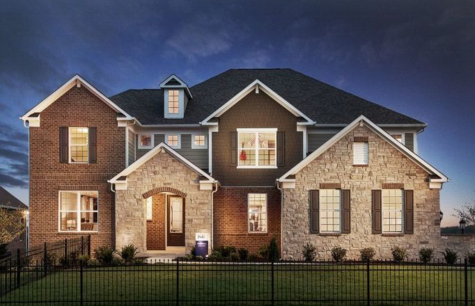 Ready To Build Home In Estates at Towne Meadow Community
