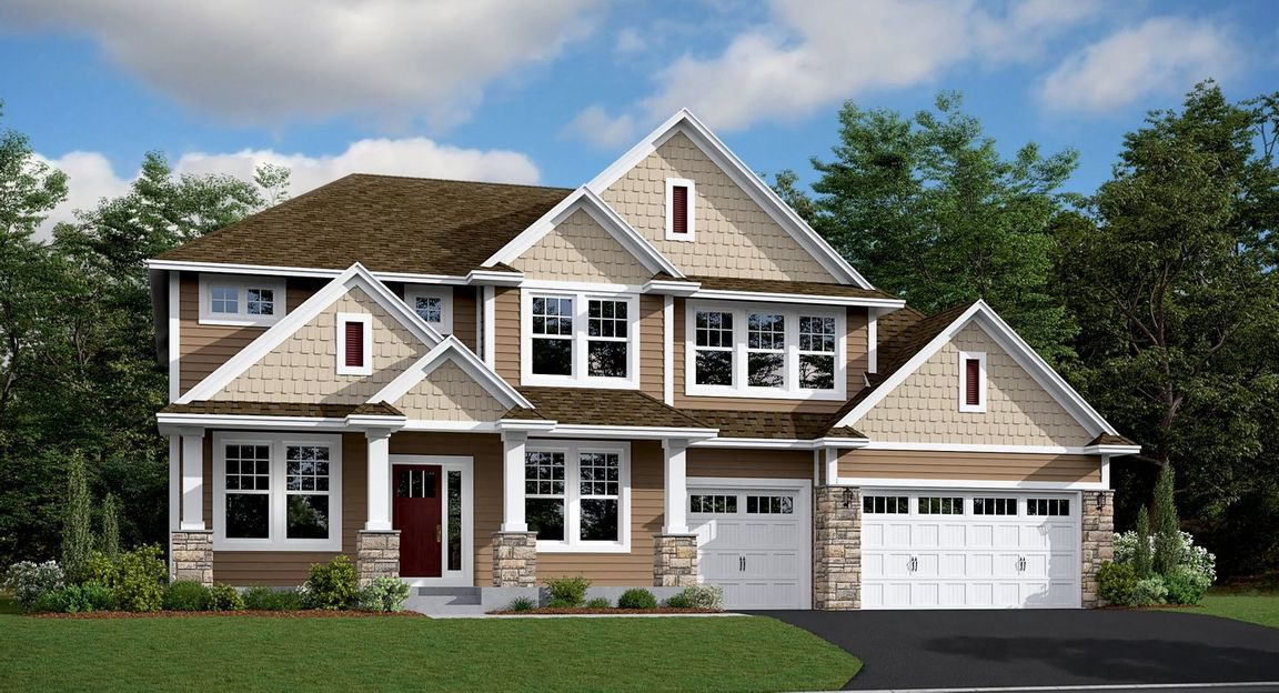Ready To Build Home In Summerlyn - Classic Collection Community