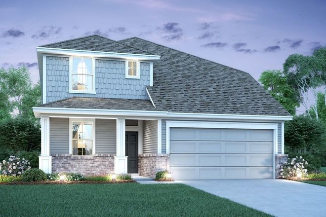 Ready To Build Home In Towne Park Village Community