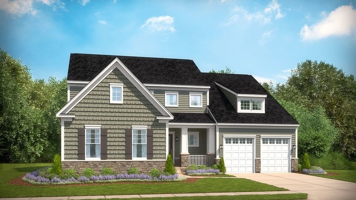 Ready To Build Home In Glenmore Community