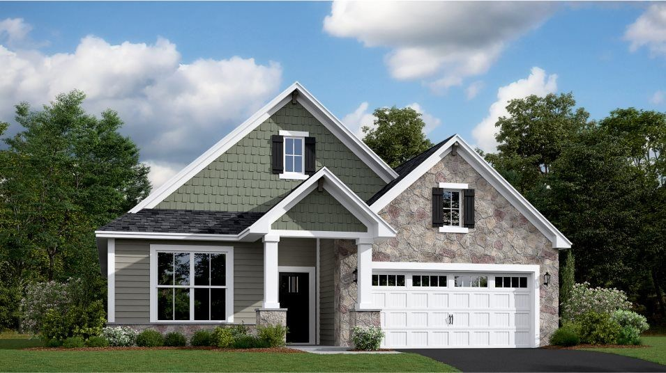 Ready To Build Home In Laurel Creek - Lifestyle Villa Collection Community