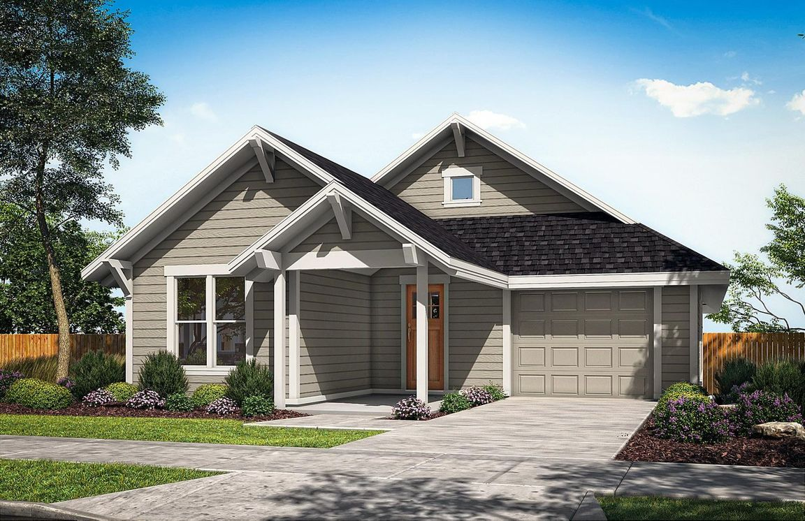 Ready To Build Home In Saddlestone Community