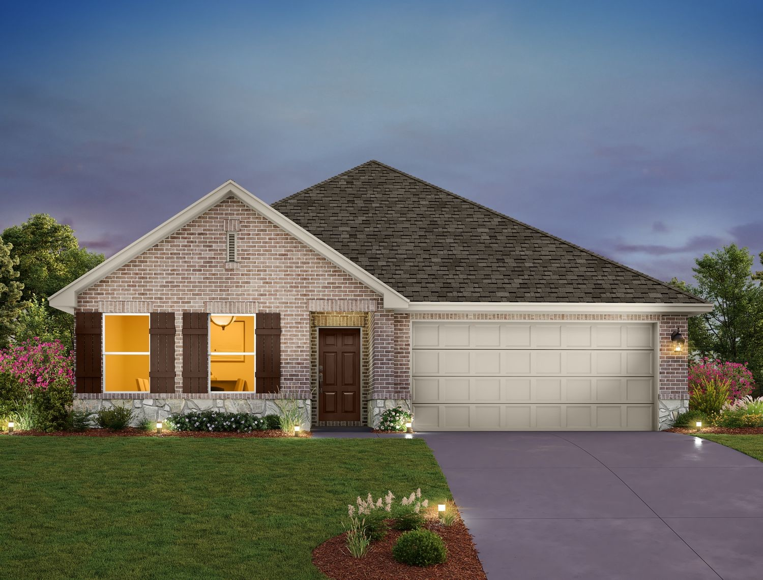 Ready To Build Home In Vine Creek Community
