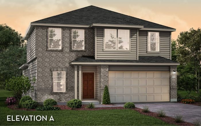 Ready To Build Home In Park Place South Community