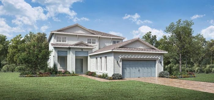 Ready To Build Home In Windgate at Avenir Community