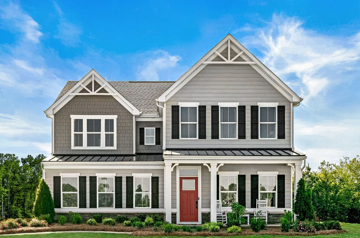Ready To Build Home In Giles Community