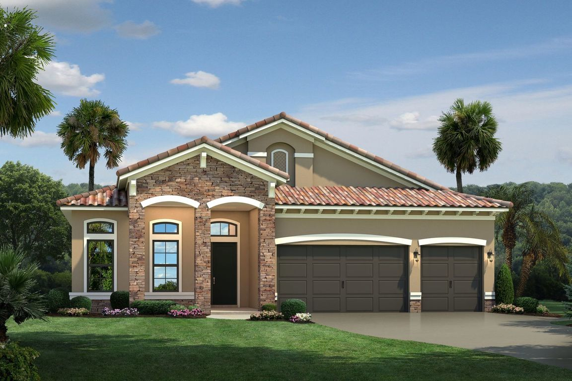 Ready To Build Home In The Falls at Parkland Single Family Homes 55+ Community