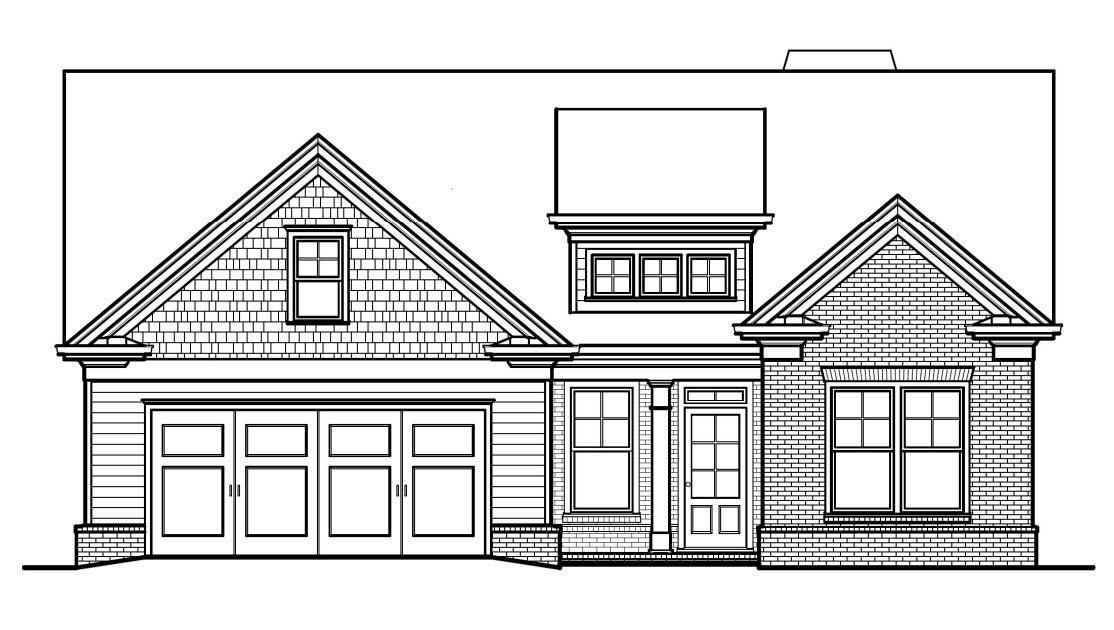 Ready To Build Home In McGinnis Farm Community