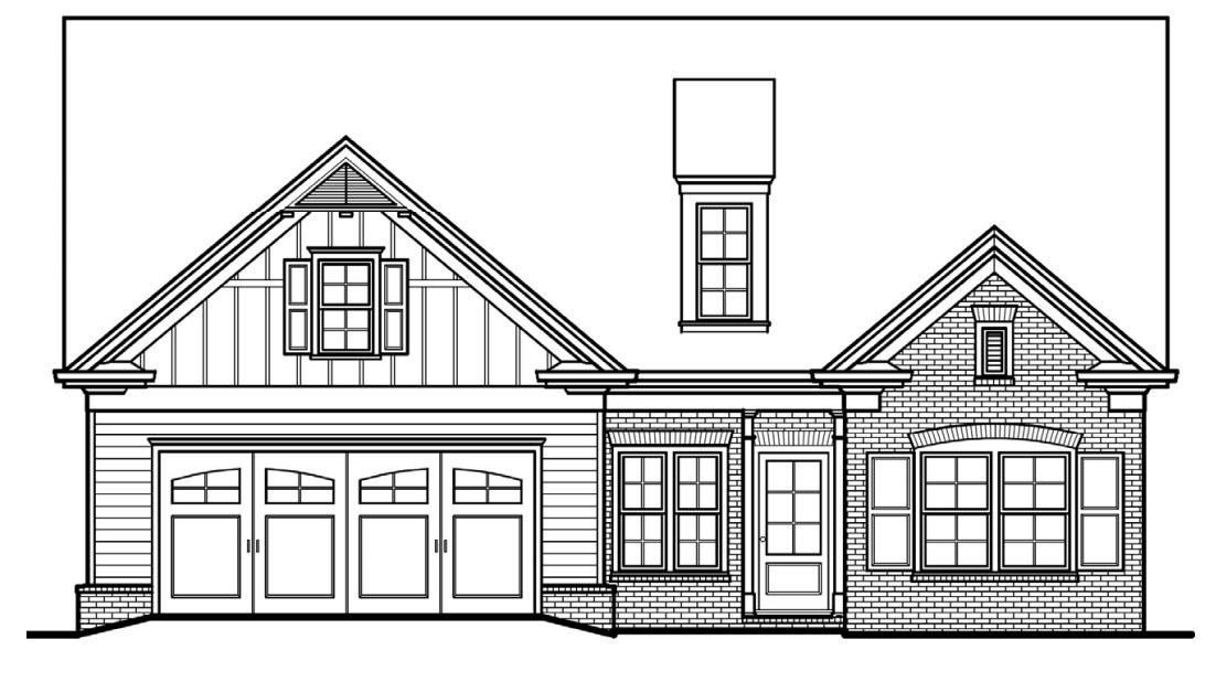 Move In Ready New Home In McGinnis Farm Community
