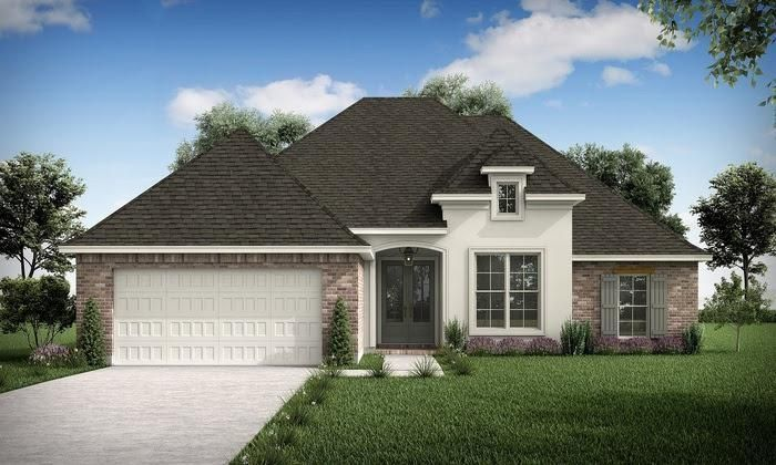 Ready To Build Home In Hidden Creek Community