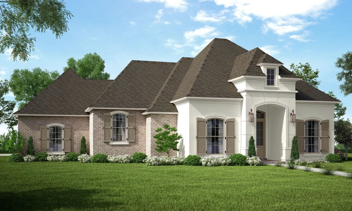 Ready To Build Home In Bedico Creek Community