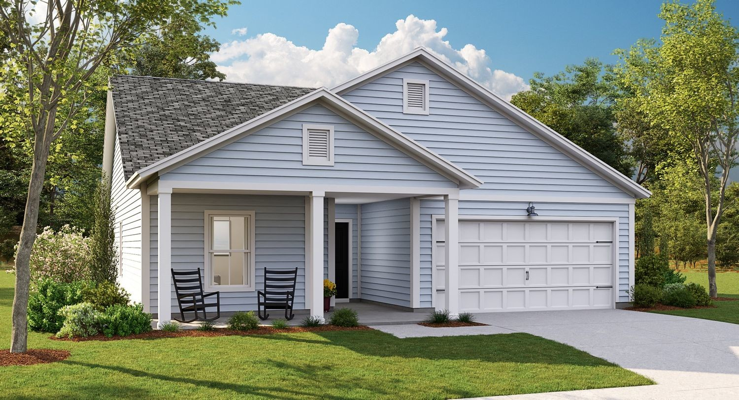 Ready To Build Home In Limehouse Village - Arbor Series Community