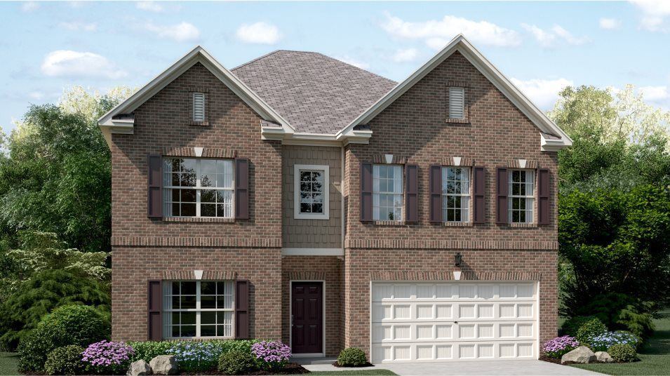 Ready To Build Home In Mountain Crest - Dartmoor at Mountain Crest Community