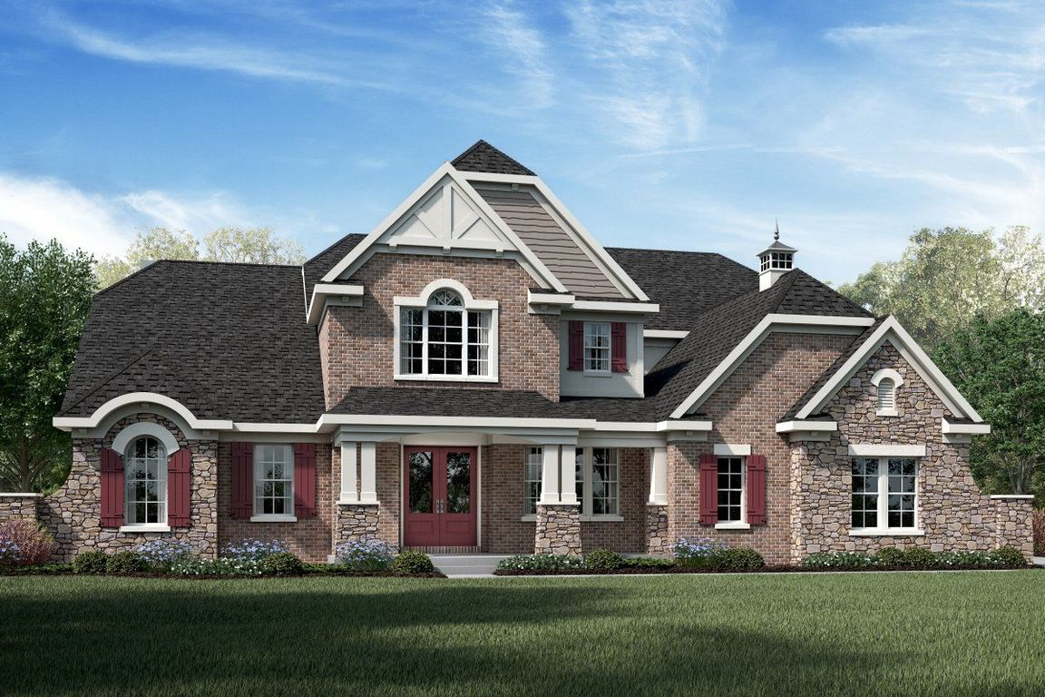 Ready To Build Home In Crooked Tree Preserve Community