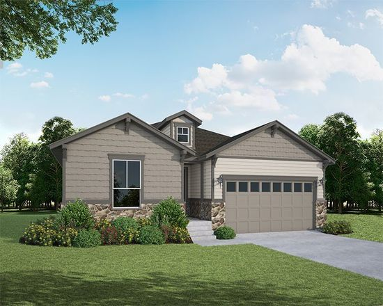 Ready To Build Home In The Enclave at Mariana Butte - Parkside Series Community