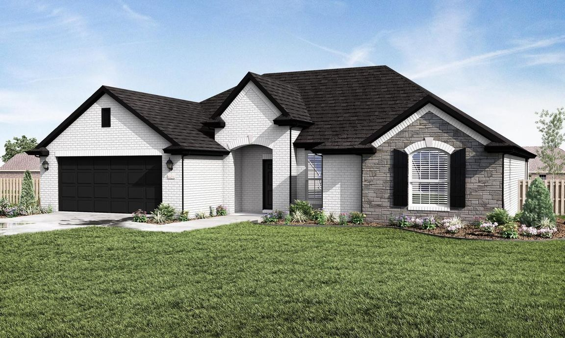Ready To Build Home In Park View Community