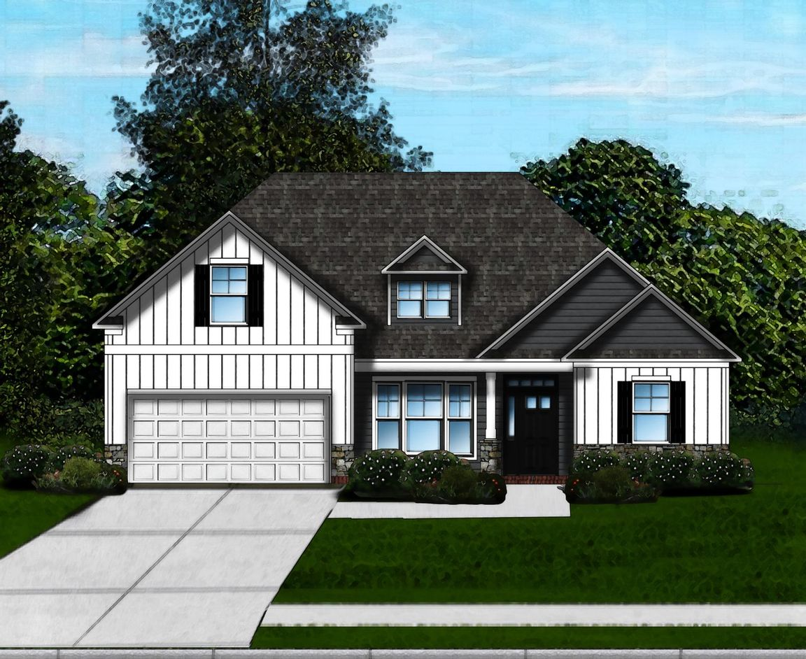 Ready To Build Home In Braemar Knoll Community
