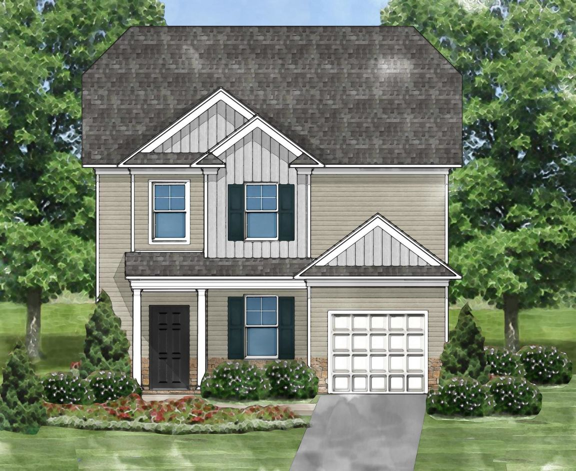 Ready To Build Home In Livingston Place Community
