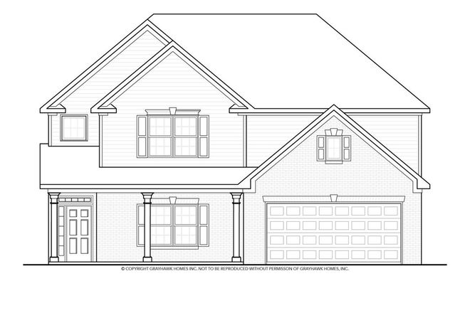 Ready To Build Home In Lexington Hills Community