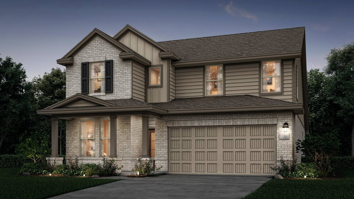 Ready To Build Home In Newport - Magnolia Collection Community