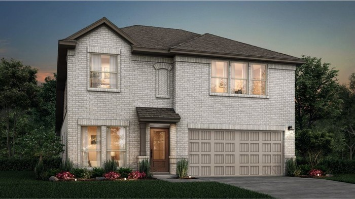 Ready To Build Home In Porter Ranch - Magnolia Collection Community