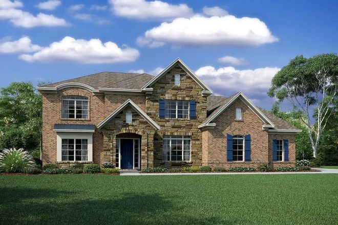 Ready To Build Home In Harlow's Crossing Community