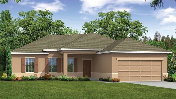 Ready To Build Home In The Lakes At St. Sebastian Community