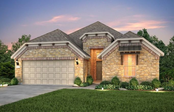Ready To Build Home In The Overlook at Creekside Community