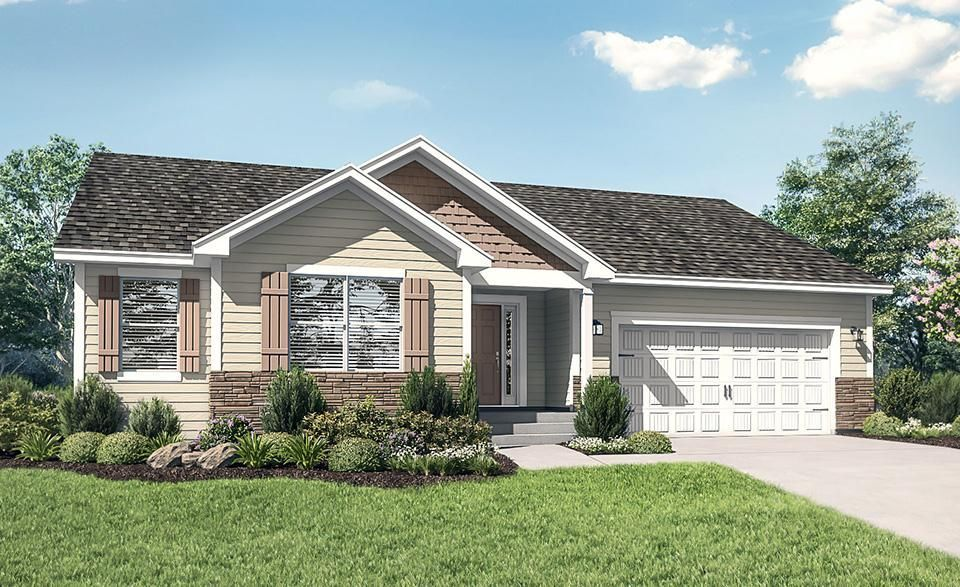 Ready To Build Home In Willow Creek Community