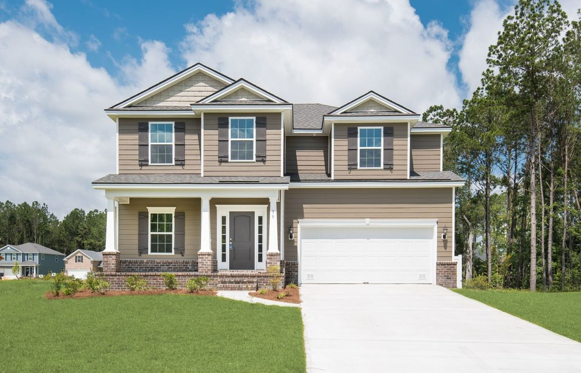 Ready To Build Home In Dunham Marsh - The Estates Community