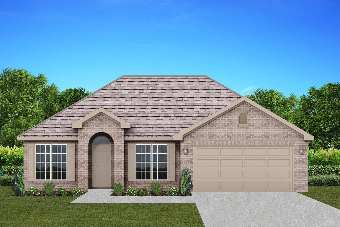 Ready To Build Home In Sherwood Forest Community