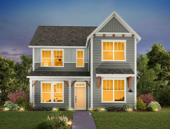 Ready To Build Home In Mockingbird Park Cottages Community