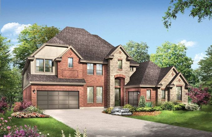 Ready To Build Home In Fulbrook on Fulshear Creek Community
