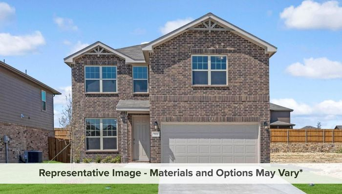 Ready To Build Home In Lake Vista Ranch Community