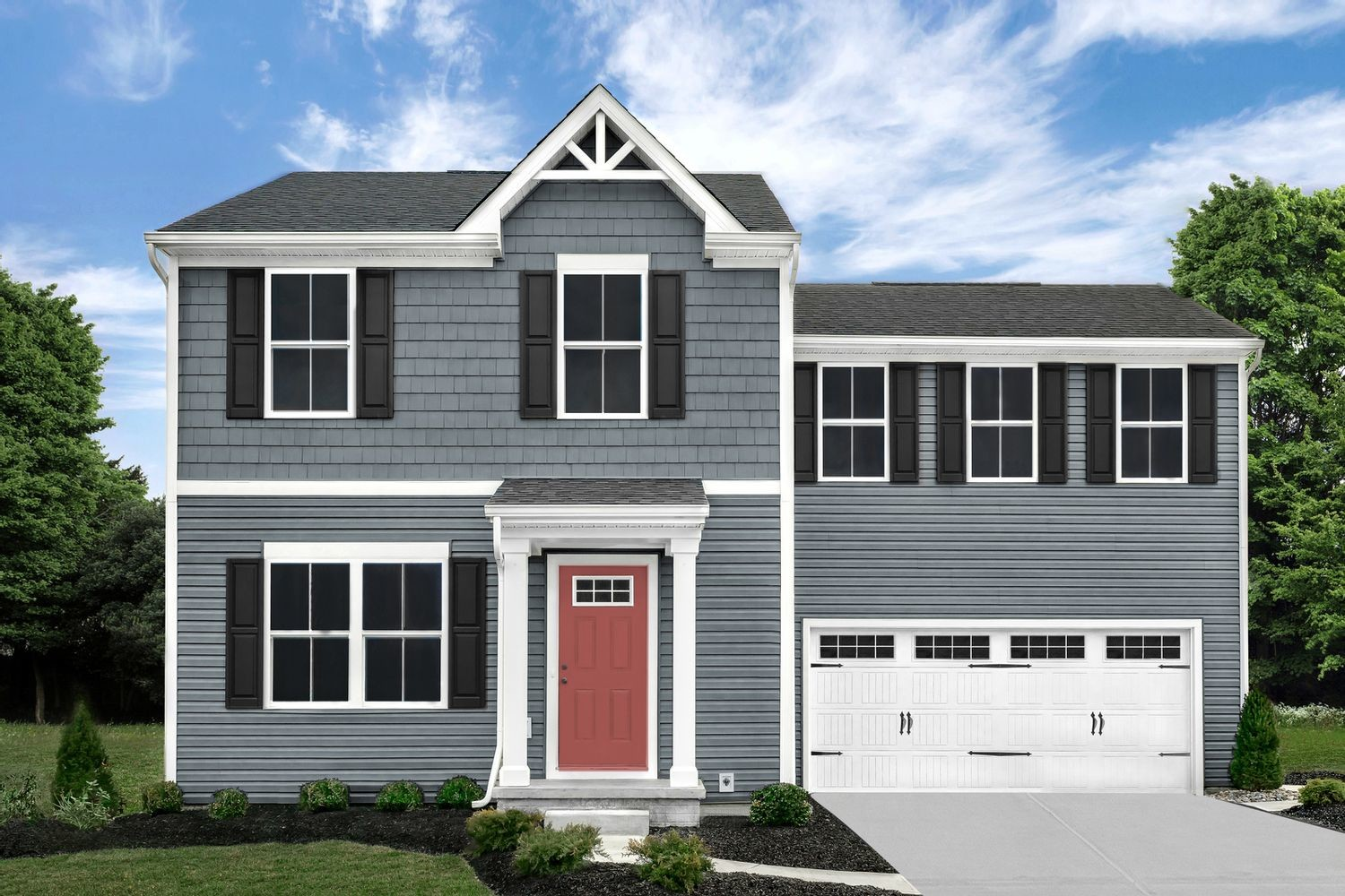 Ready To Build Home In Barrington Creek Community
