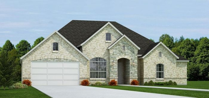 Ready To Build Home In Spring Ranch Community