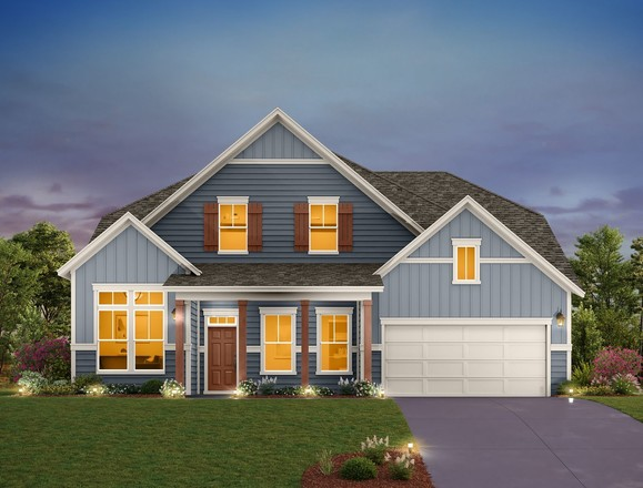 Ready To Build Home In Headwaters Community