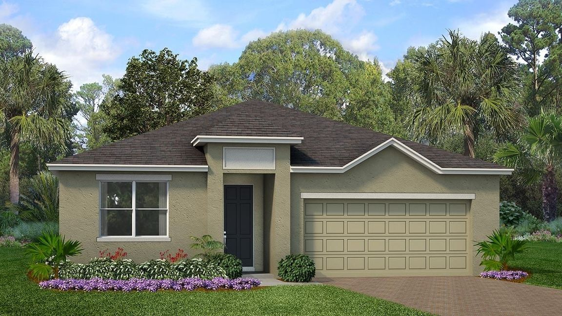 Ready To Build Home In Tarpon Bay Community