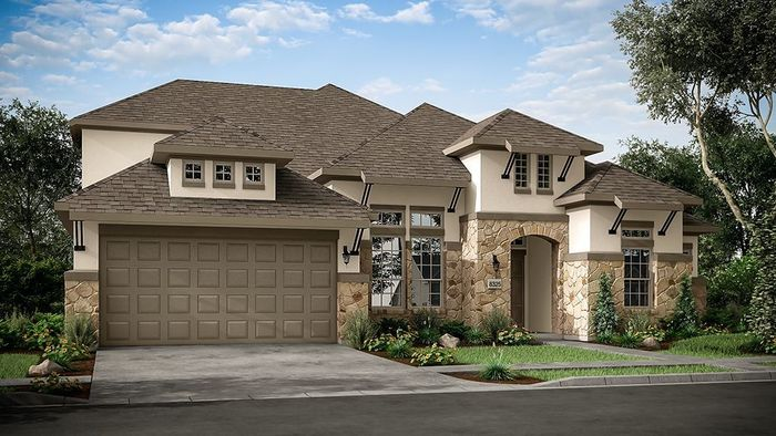 Ready To Build Home In Travisso Siena Collection Community