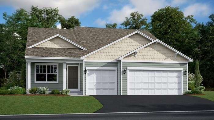 Ready To Build Home In Fieldstone Passage - Heritage Collection Community