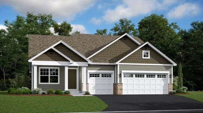 Ready To Build Home In Watermark - Heritage Collection Community