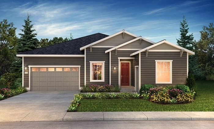 Ready To Build Home In Trilogy at Tehaleh Community