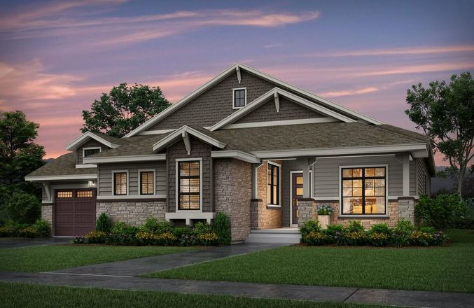 Ready To Build Home In Trails at Crowfoot Community