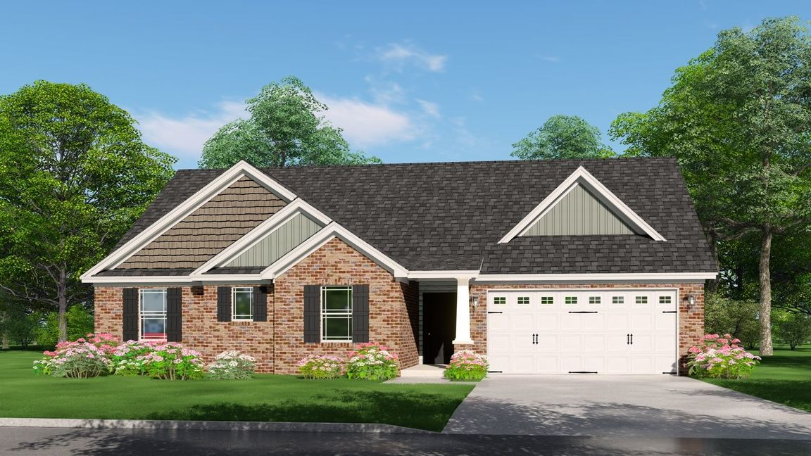 Ready To Build Home In Beacon Pointe Community
