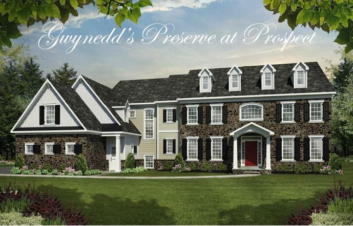 Ready To Build Home In Gwynedd's Preserve at Prospect Community